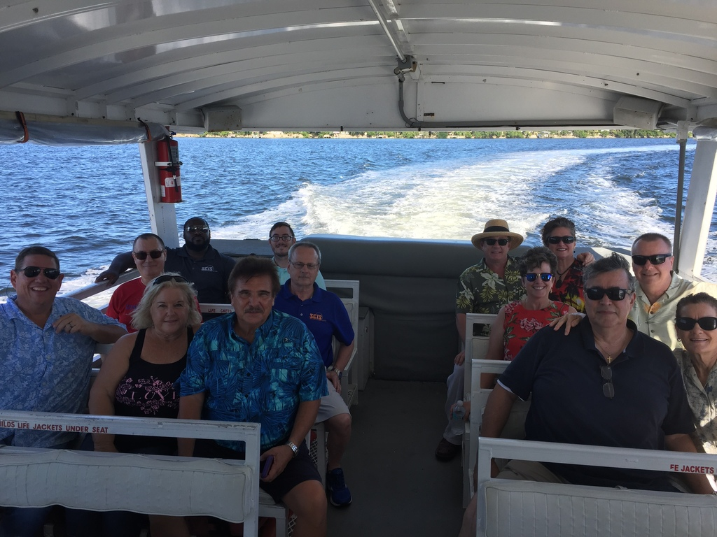 Quarterly All Hands Meeting Ends with Lagoon Boat Cruise